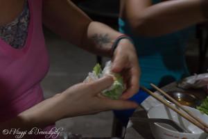 involtini di riso Vietnam DIY
