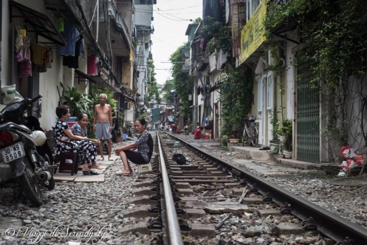 Hanoi vita sul binario