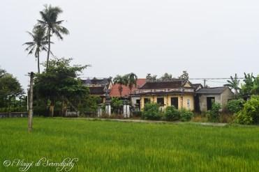 Paesaggio campagna nei dintorni di Huè
