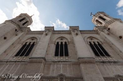 Facciata esterna Basilica di Fourvière