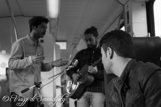 Culry Frog and the Blues Bringer Vaggio sul Treno della musica