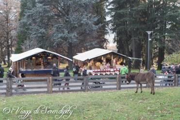 Mercatino di Natale Levico Terme Animali della fattoria
