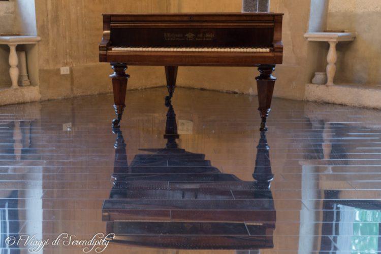 Stanza della musica Villa Pisani Bonetti