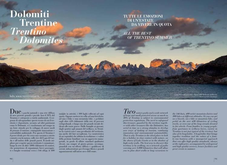 Dolomiti Première rivista