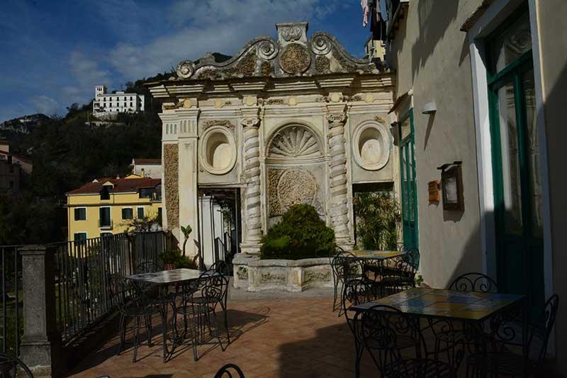 Fontana principale Giardino della Minerva