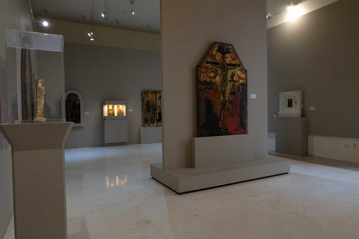 Sala tavole dipinte Museo Diocesano