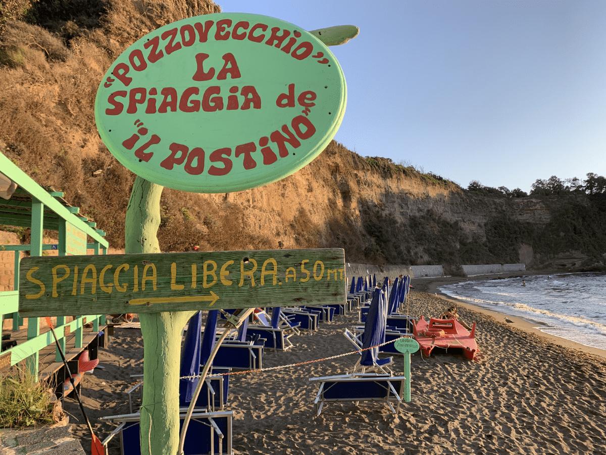 Pozzo Vecchio spiaggia del Postino