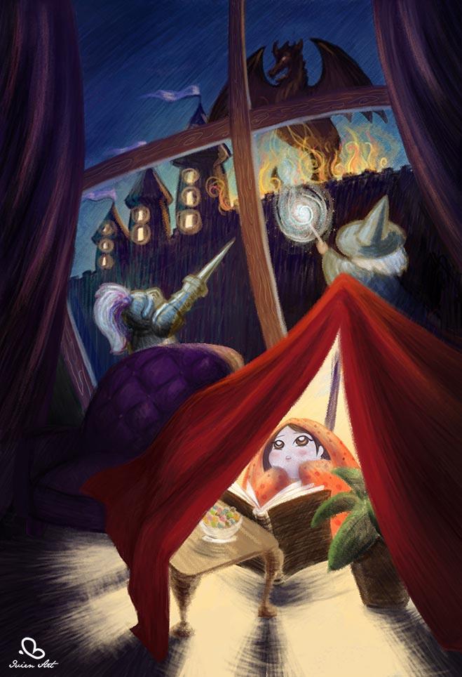 valentina lauria - ivien art - children's point of view first version