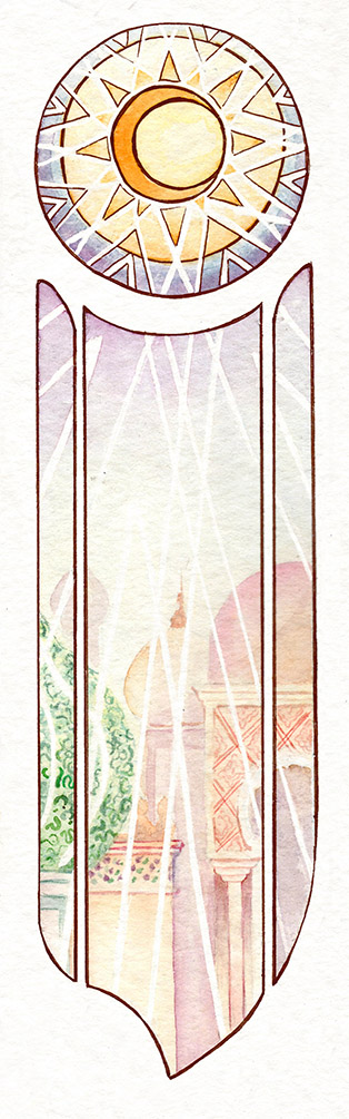 valentina lauria - ivien art - le mille e una notte sole
