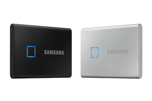 Samsung Launches Portable SSD T7 Touch with Fingerprint Sensor in CES 2020
