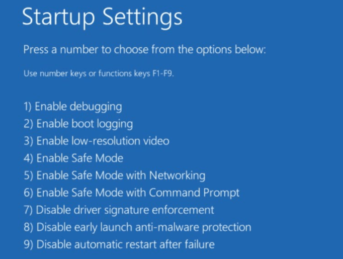 Windows Startup Setting