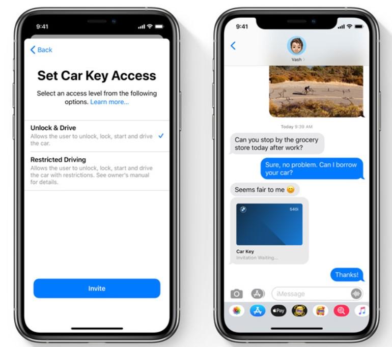 Share and manage keys