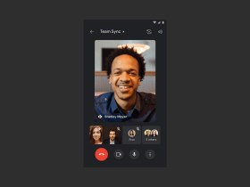 Google Meet now available in Gmail Mobile App