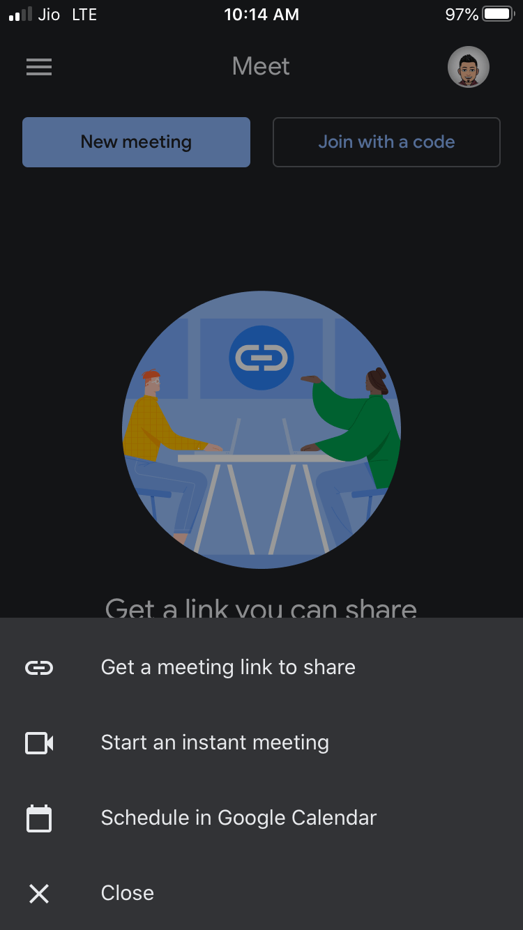 Join Meetings with Shareable Link or a Schedule in Google Calendar