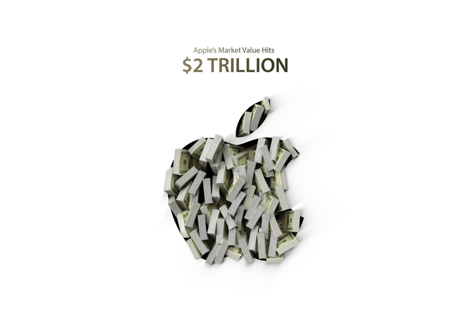Apple Becomes First U.S. Public Company to Hits $2 Trillion Market Value