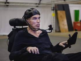 """Intel Helped Dr. Peter Scott-Morgan to Give """"World's First Human Cyborg"""" a Voice"""