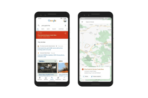 Google Launches Wildfire Boundary Map in Google Search and Google Maps SOS Alerts in the U.S.