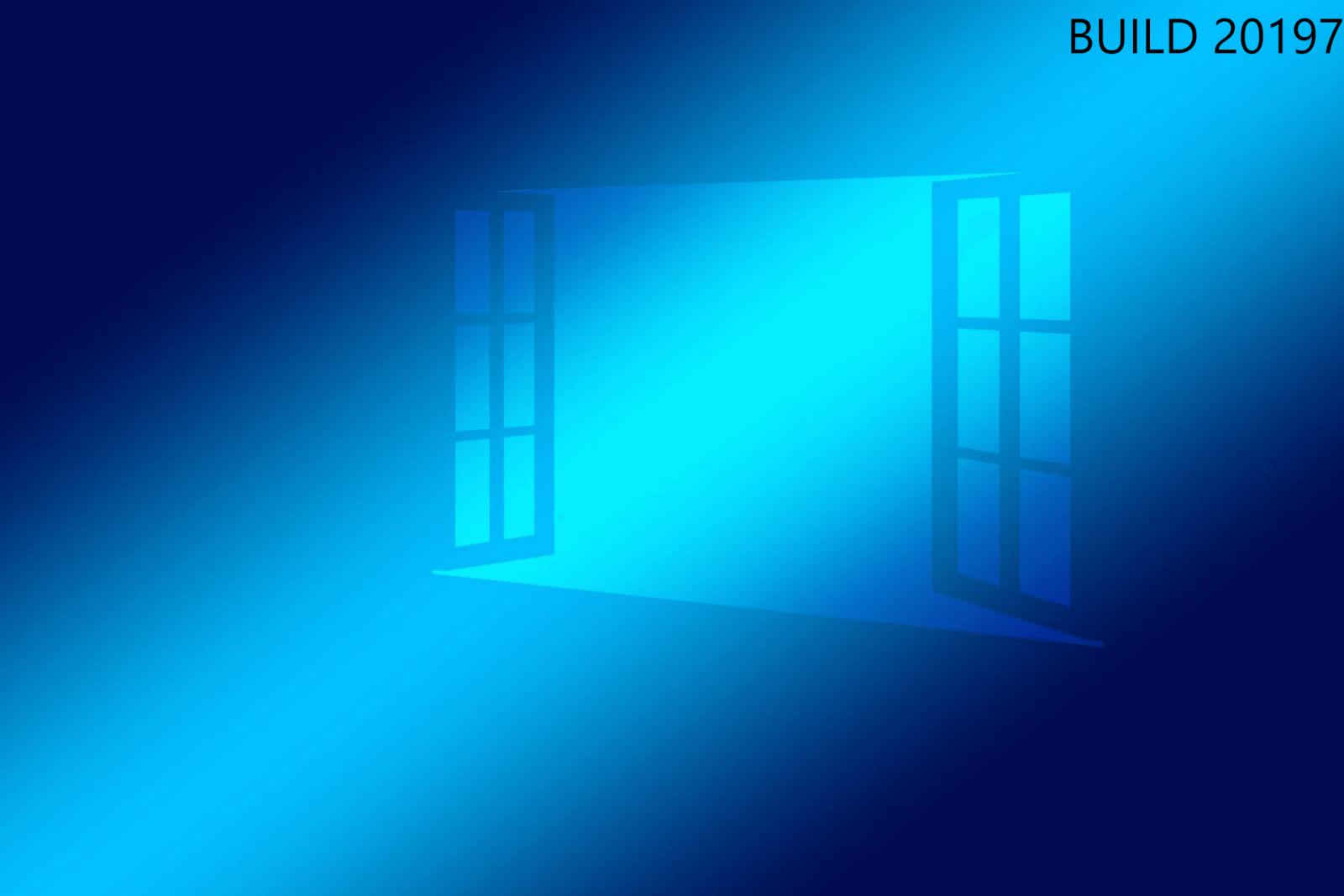 Windows 10 Insider Preview Build 20197 Changelog