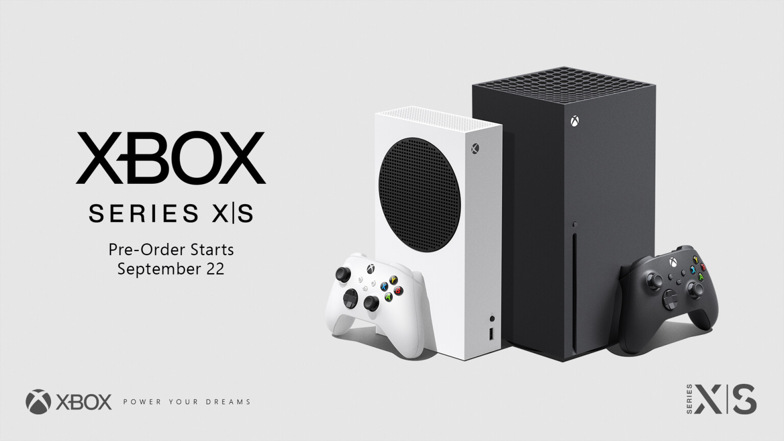 Xbox Series X and Xbox Series pre-orders go live on September 22