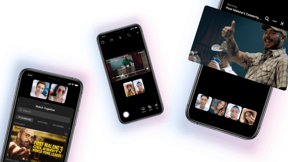 Messenger and Instagram bring new show series with Post Malone through Watch Together