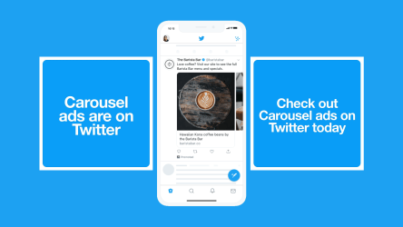 Twitter rolls out Carousel ads features for advertisers