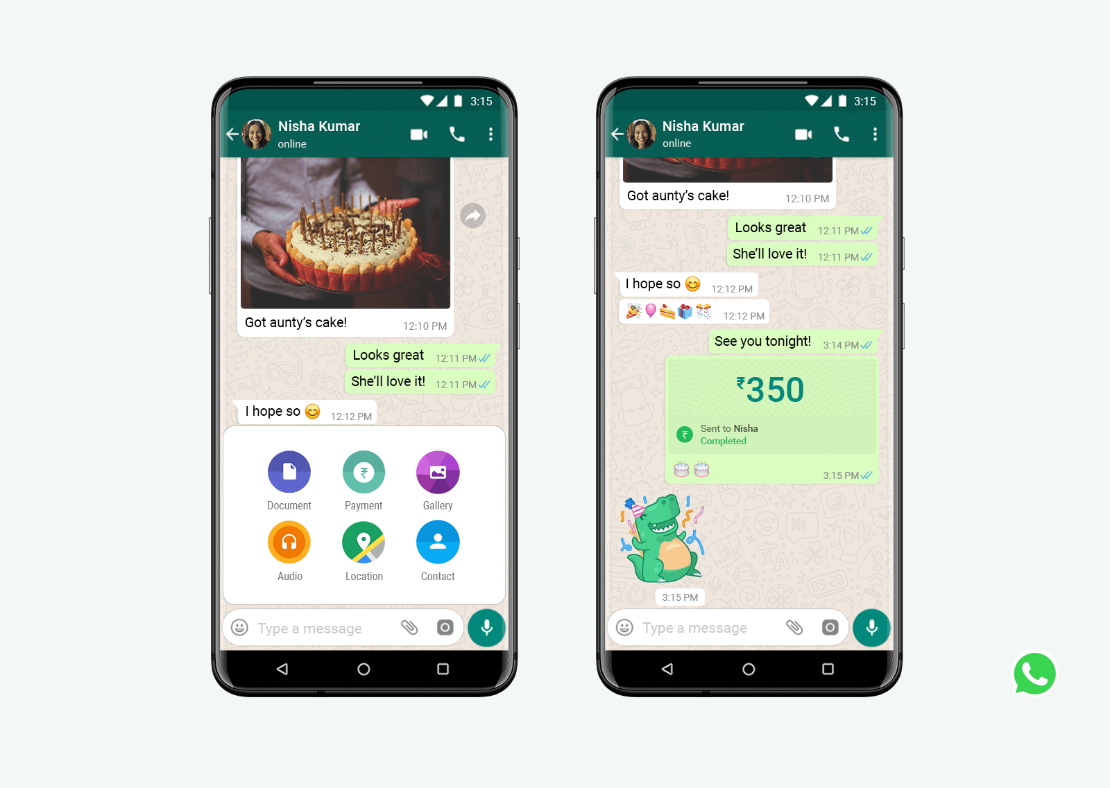 WhatsApp Payment Method Now Available to All Users in India