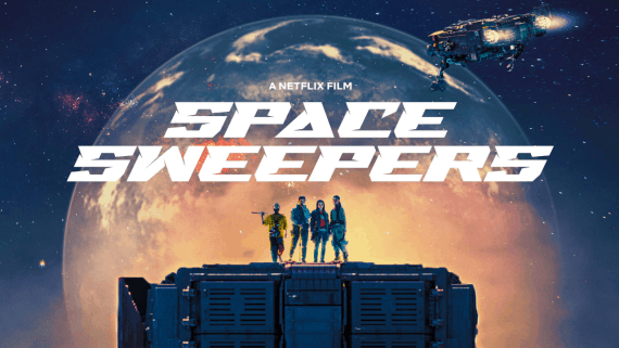 Netflix confirmed the release date for 'SPACE SWEEPERS' film