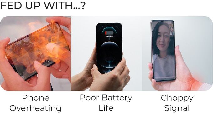 KooKit: Fast cooling & Wirelessly charging at the same time