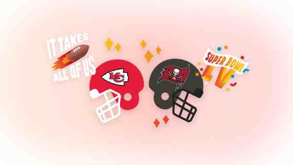 Messenger Added Super Bowl LV Camera Filters & Stickers