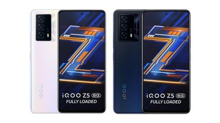 Get a ₹1,500 discount coupon for iQOO Z5 5G