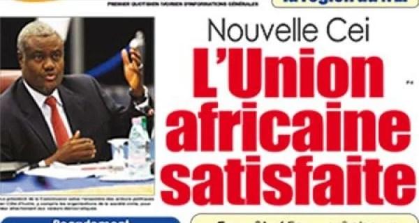Côte d'Ivoire/CEI : Ces copinages à l'UA qui inquiètent… Moussa Mahamat est-il conscient du danger qu'il fait courir à la C.I?