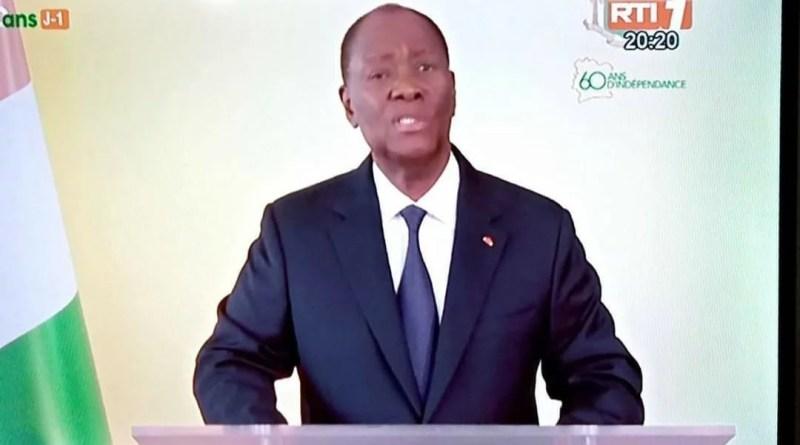 Ouattara répond à l'opposition : « quand j'entends ces donneurs de leçon, aujourd'hui, c'est une honte »