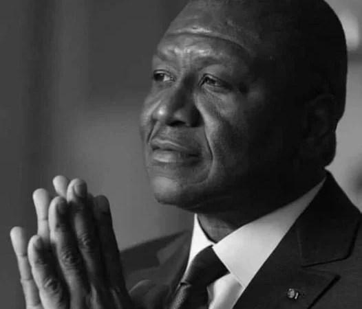 Communiqué suite au décès du Premier ministre Hamed BAKAYOKO