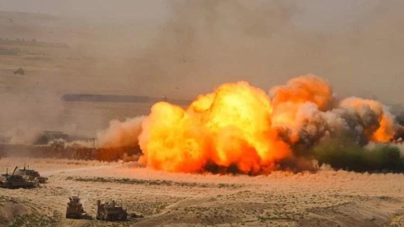 Urgent: Explosion d'un engin de type IED Dans le Nord-Est du Pays