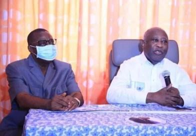 Le Président Laurent Gbagbo a rencontré des personnalités politiques et civiles ivoiriennes ce vendredi 30 juillet 2021