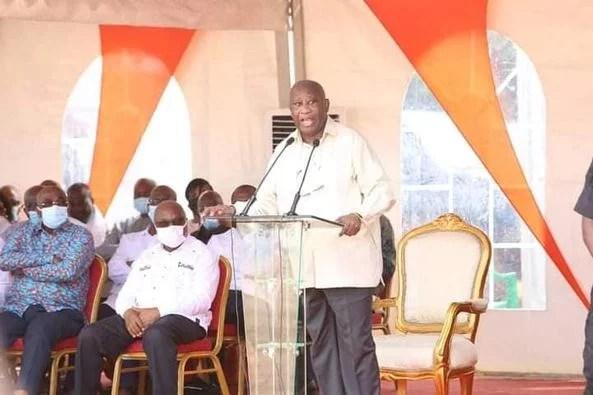 Rencontre Gbagbo et le peuple WÊ: Voici l'intégralité de son discours