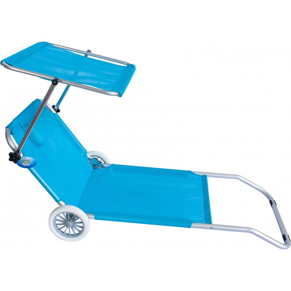 50,13 € | carrello spiaggia: Spiaggina Con Ruote Sdraio Trolley Mare Spiaggia Con Tettuccio Ivo Store