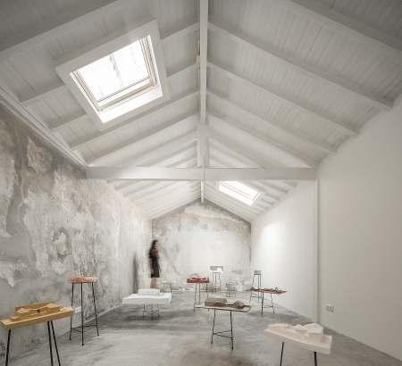 Reportagem Fotografia de arquitectura portuguesa fotografo Ivo tavares studio projecto Instituto de Paulo Moreira Architectures