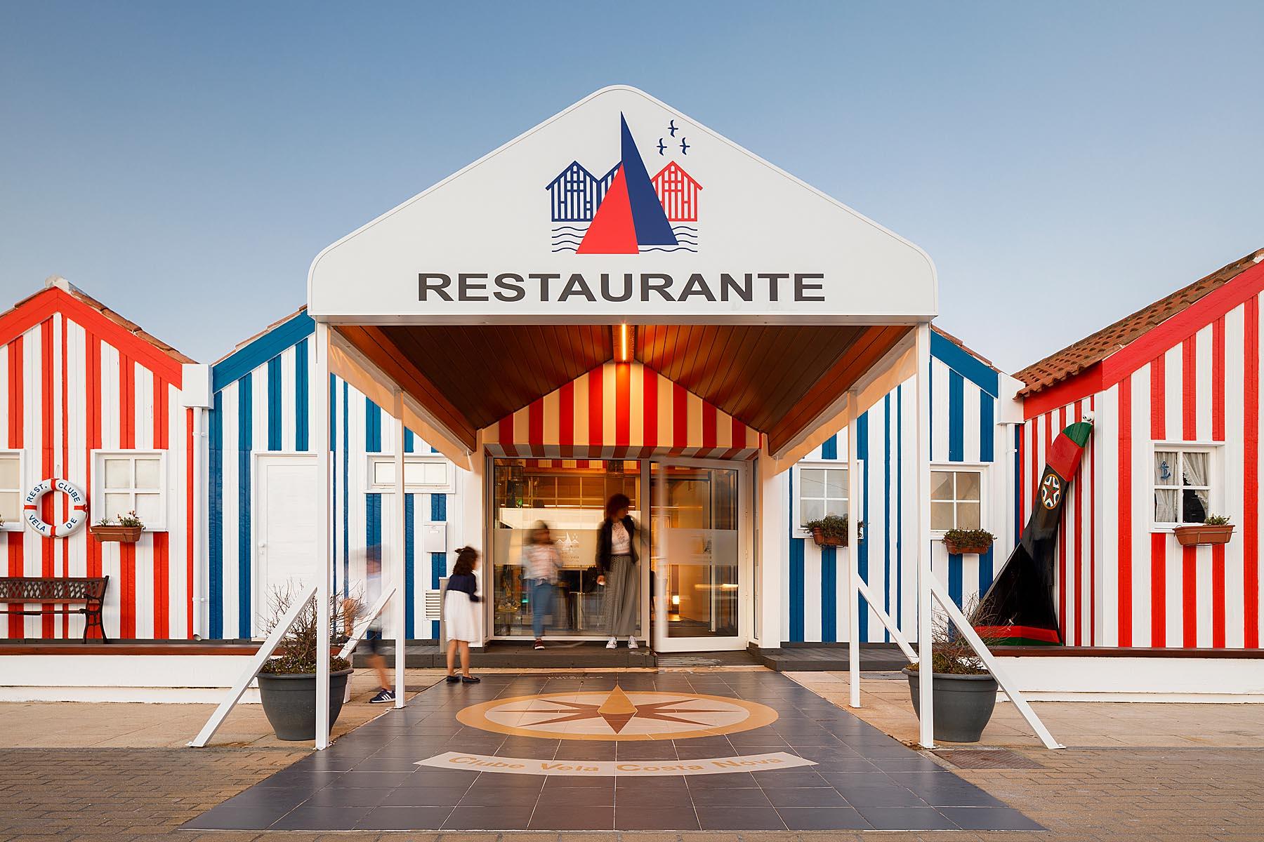 Restaurante Clube de Vela da Costa Nova, CVCN, em Ílhavo do ate