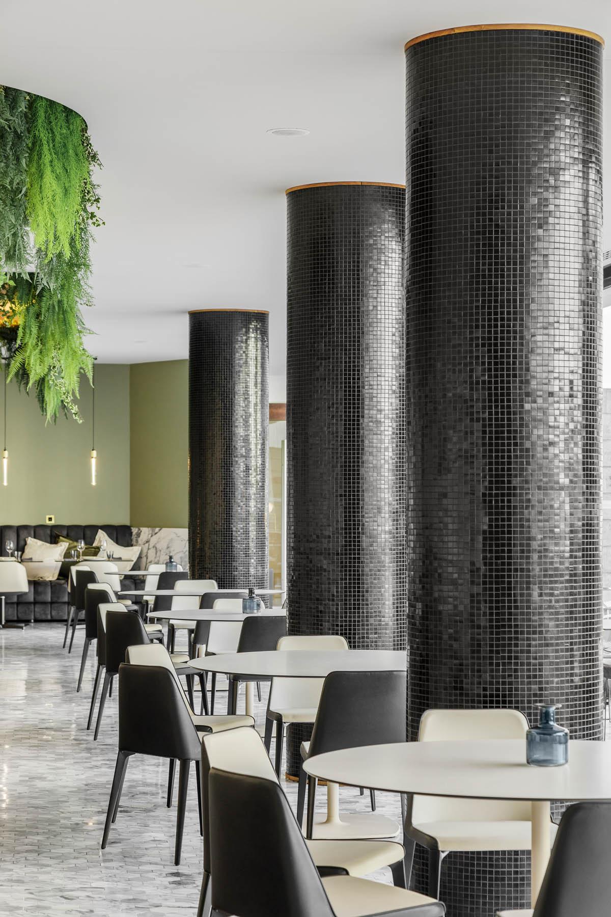 KOI Restaurant by Azoris em Ponta Delgada nos Açores, projecto