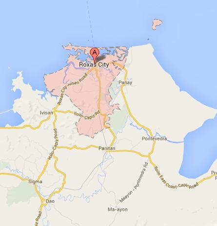 Roxas City Barangay Elections Results Halalan - Roxas map
