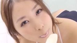 西田麻衣 爆乳溢れそうなスク水姿でいやらしくアイスをしゃぶったり