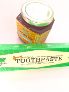 Toothpaste with Honey