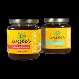 Logwood and Hibiscus & Sorrel Raw Honey Bundle