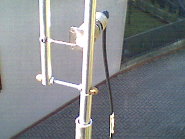 144 430 Dual Band J Pole Antenna Iw5edi Simone Ham Radio