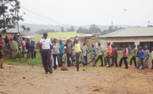 Les Imbonerakure lors de la journée du combattant du Cndd-Fdd ©Iwacu