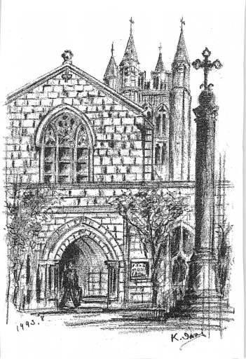 東エルサレム、聖公会セント・ジョージ教会