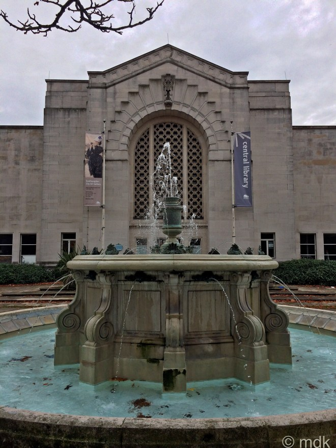 The Art Gallery fountain