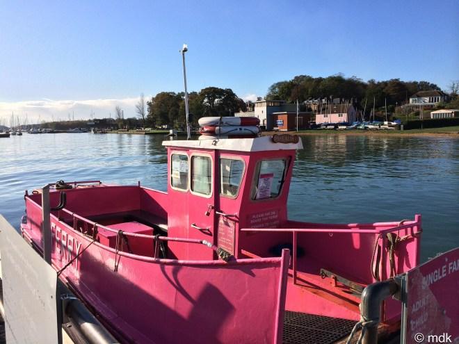No ferryman in sight