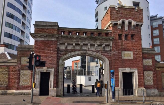 Gunwharf Quay, North Gate